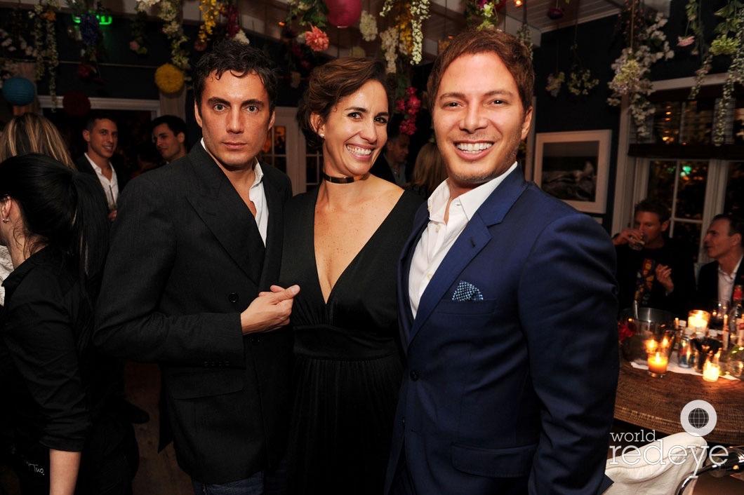 Fabian Basabe, Marcella Novela, & Nick D'Annunzio