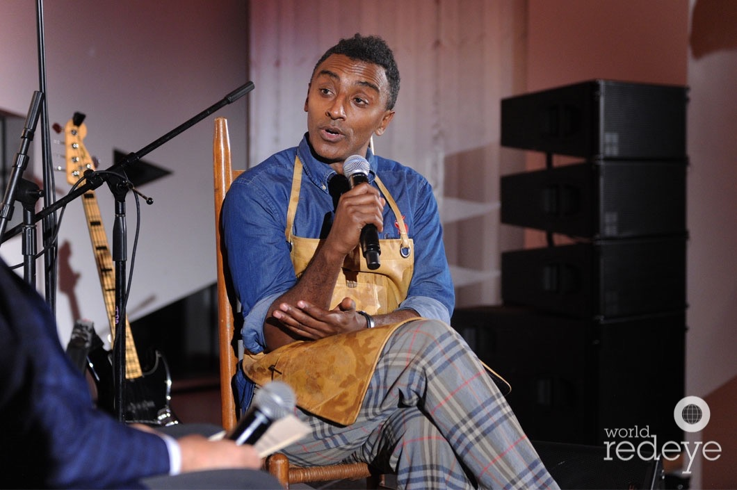 7.1-Lee Schrager & Marcus Samuelsson speaking8