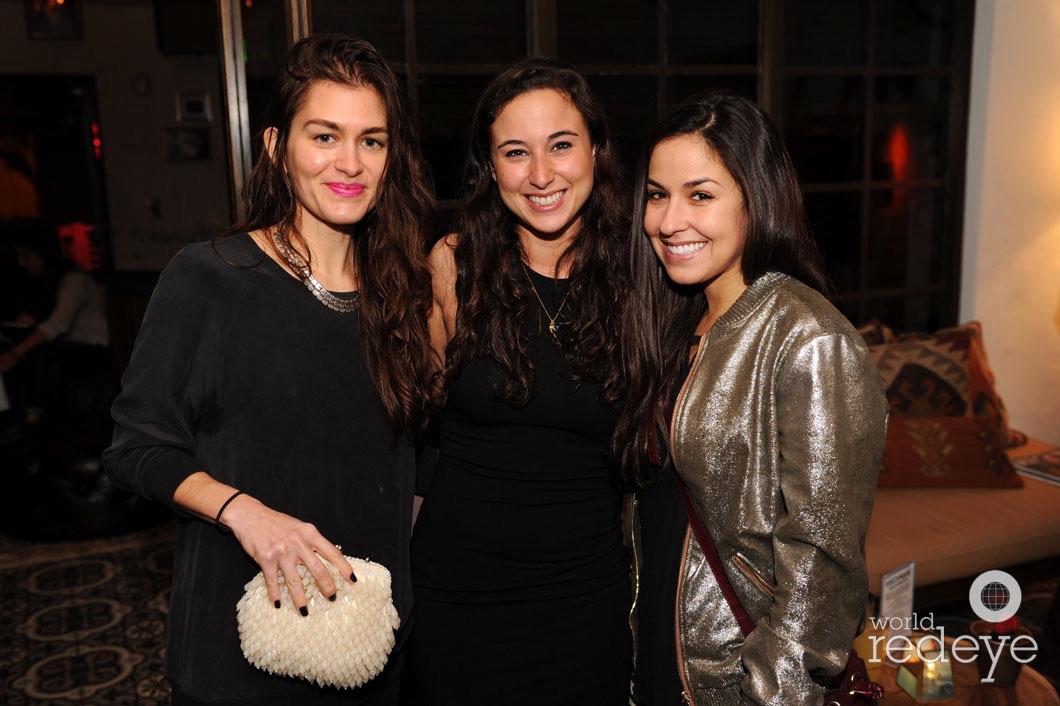 Angela Diaz, Tess Gostfrand, & Carla Torres