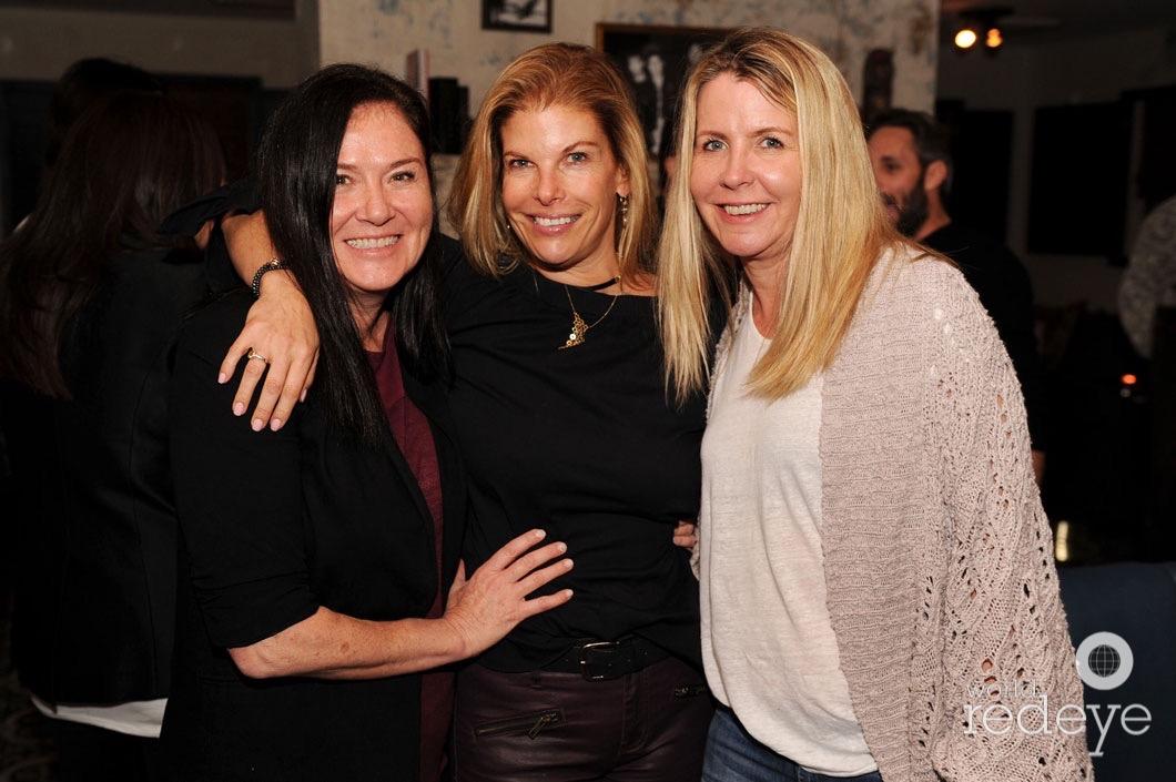 Michelle Addison, Leslie Wolfson, & Rachel Reddington