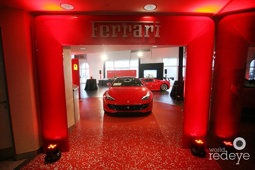 The Collection Hosts Ferrari The 812 Superfast Reveal World Red Eye World Red Eye