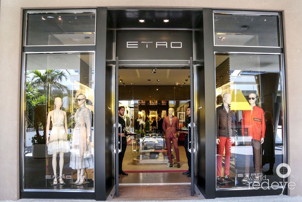reputable site febbb c0f45 Etro Boutique In-Store Shopping Celebration at Bal Harbour ...