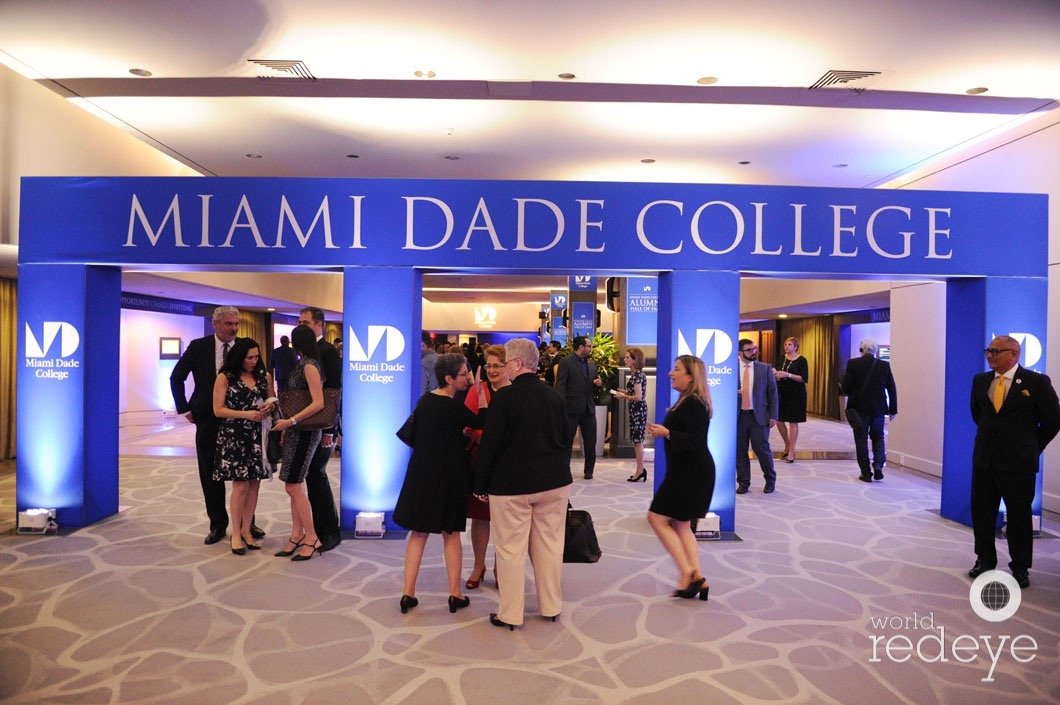 Miami Dade College 2018 Alumni Hall Of Fame Celebration At Hilton Miami Downtown World Red Eye World Red Eye