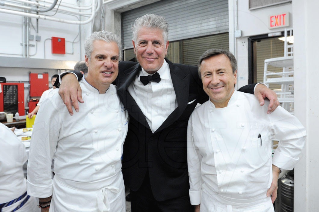 Daniel Boulud Anthony Bourdain