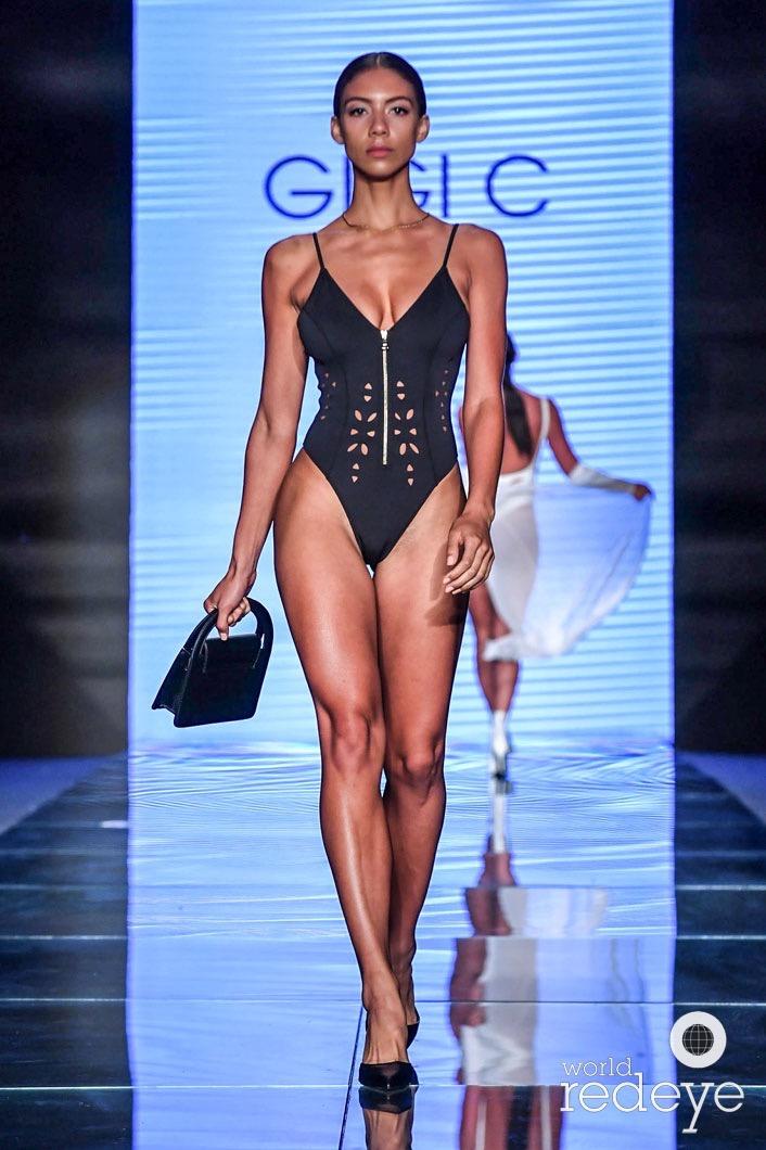 2ca34ecfa2e96 PARAISO Fashion Fair Host Gigi C Bikinis Resort + Spring 2019 Runway ...
