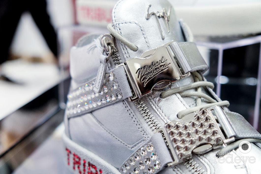 12ed2b4edb832 Miami, FL – October 23, 2018 – Luxury shoe brand Giuseppe Zanotti,  celebrated the launch of a limited-edition Michael Jackson Tribute Sneaker  at the ...