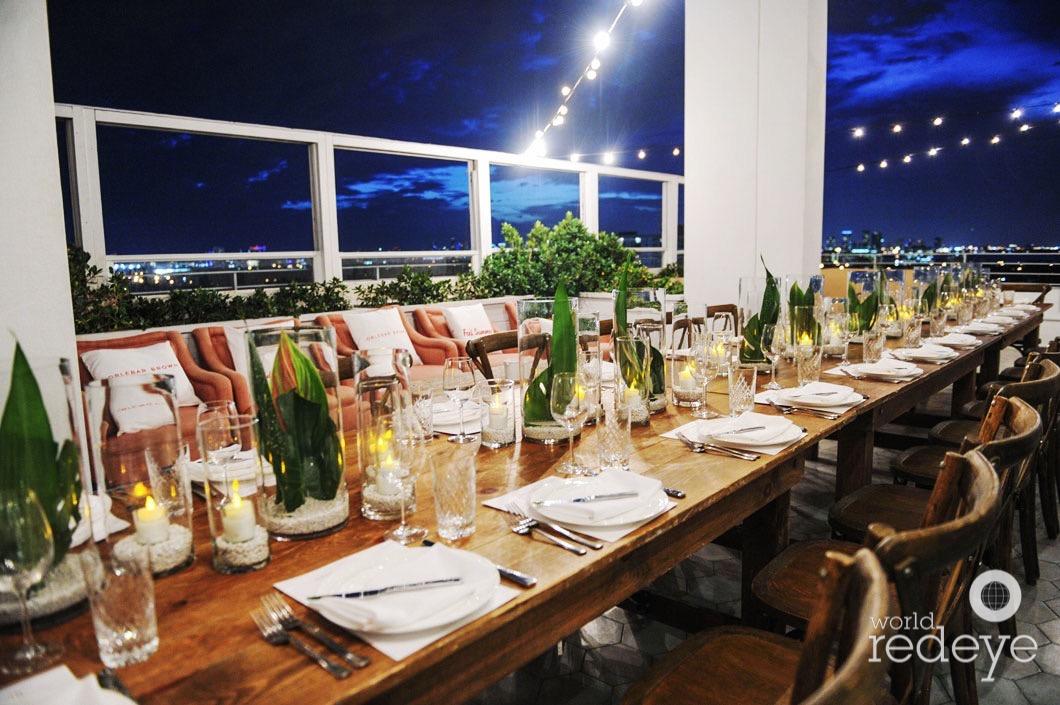 Orlebar Brown Dinner at Soho Beach House - World Red Eye