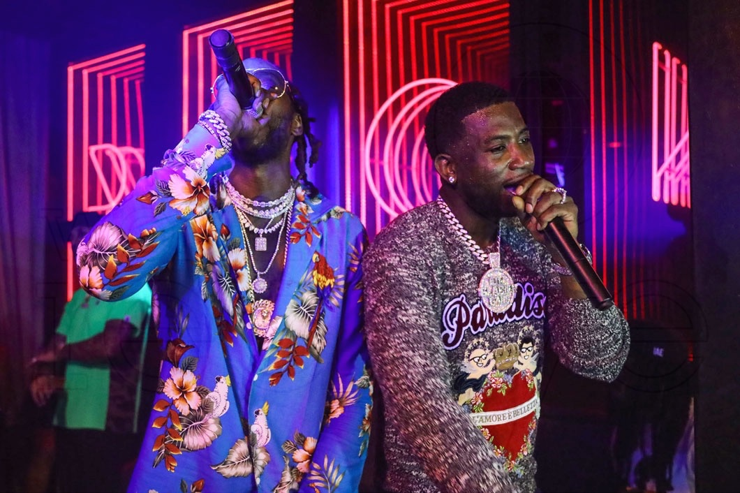 Gucci Mane & 2 Chainz at 1 Oak Pop-Up at Rockwell - World