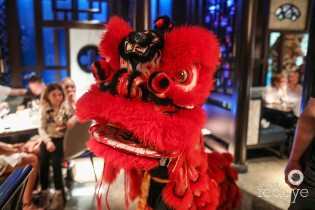 Chinese New Year Lion Dance At Fontainebleau Miami Beach