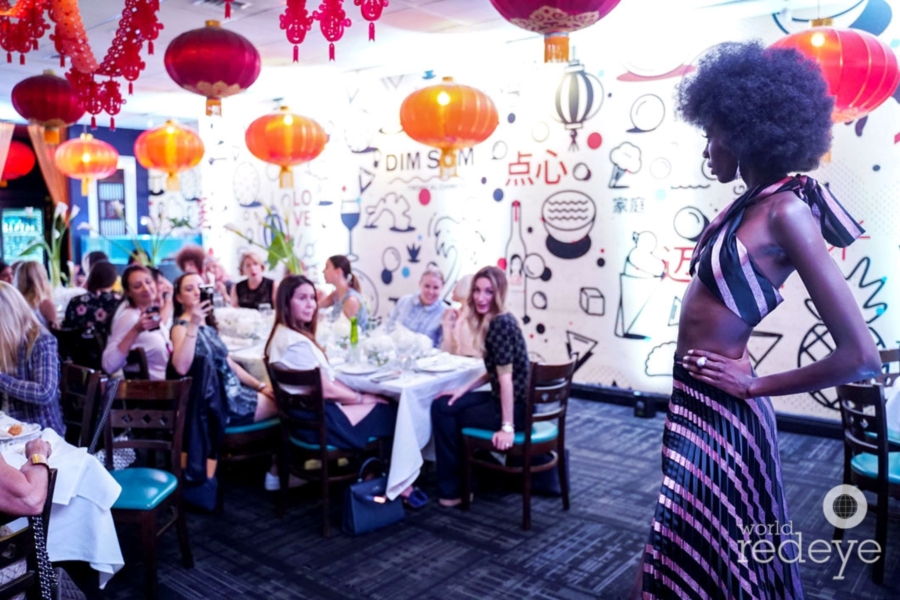 Fashion & Feast at Tropical Chinese Restaurant - World Red