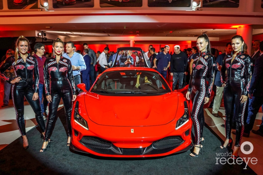Ferrari Of Fort Lauderdale Unveils The Ferrari F8 Tributo World Red Eye World Red Eye