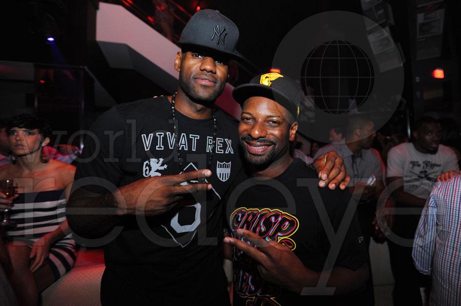 LeBron James & DJ Irie