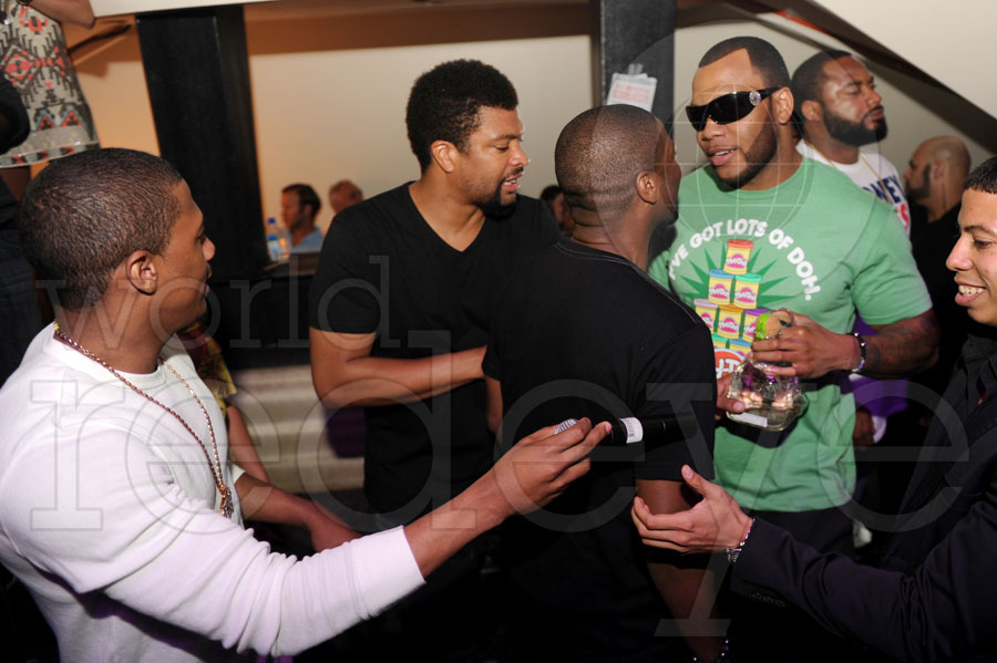 Nick Cannon, Deray Davis, DJ Irie, & Flo Rida