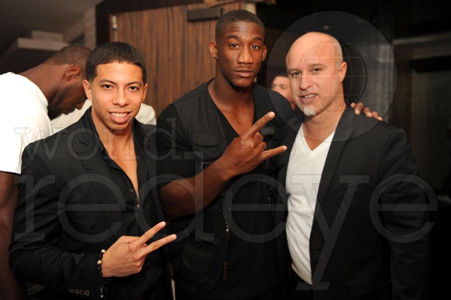 Purple, Antrell Rolle, & Mo Garcia