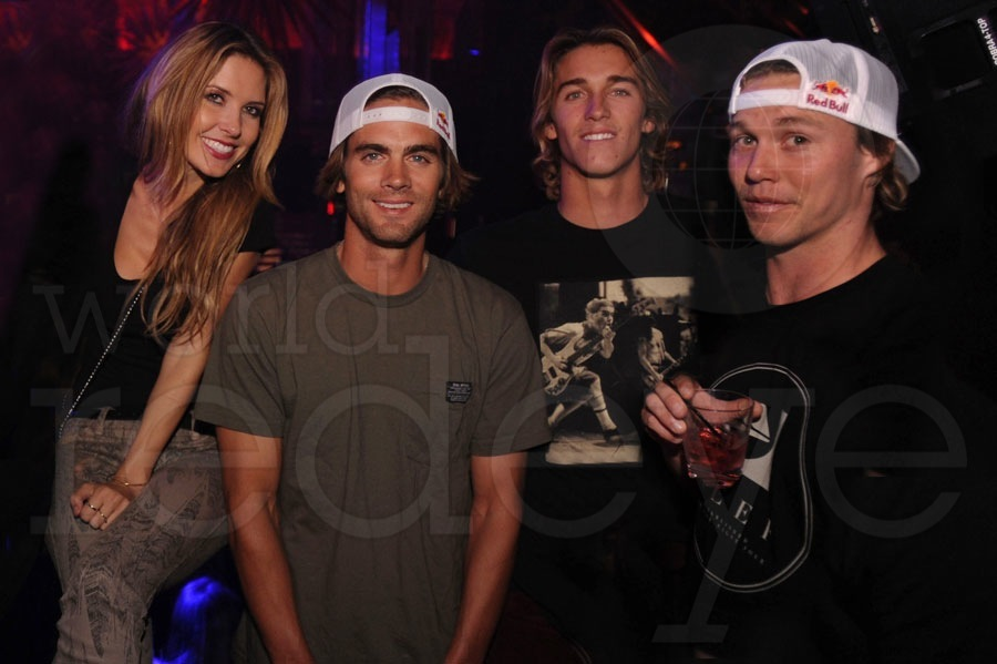 Sky Blu & Audrina Patridge at LIV