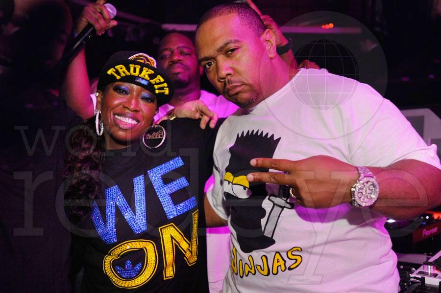 Missy Elliott, Timbaland, & Nas at Cameo
