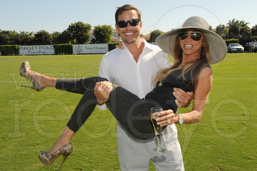 Bill & Giuliana Rancic at Polo
