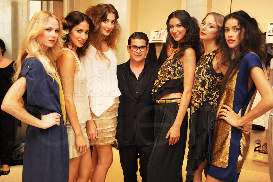 Robert Rodriguez at Saks Bal Harbour