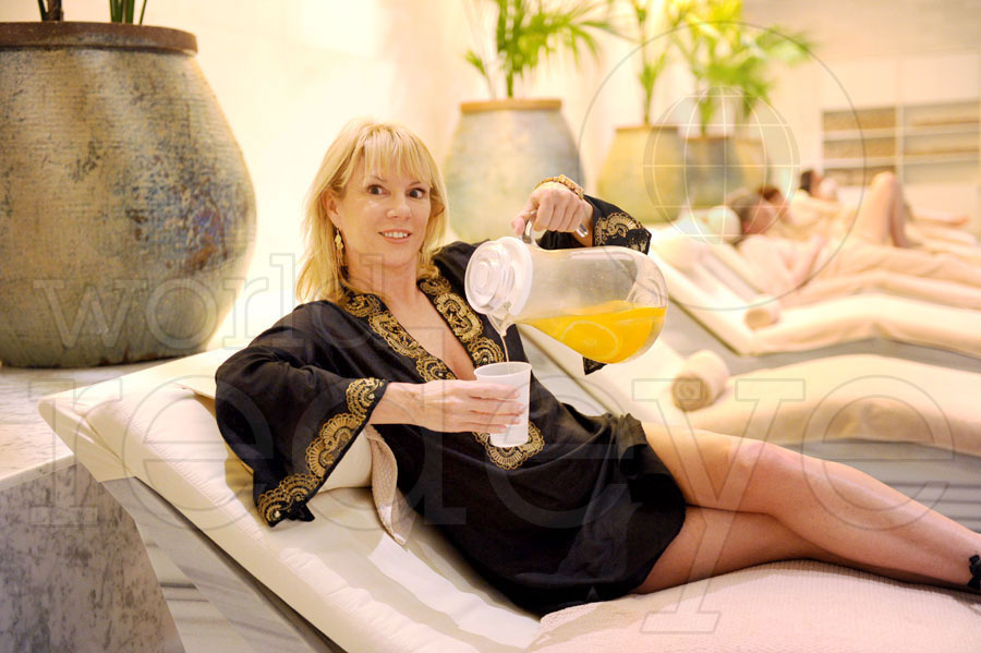 Ramona Singer at Lapis Spa