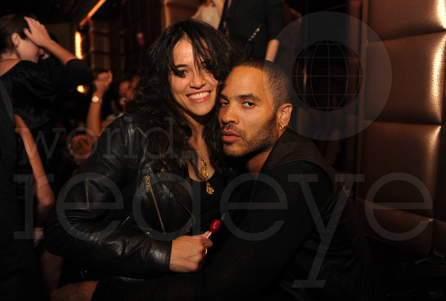 In 2005 Michelle Rodriguez dated Lenny Kravitz an American singer