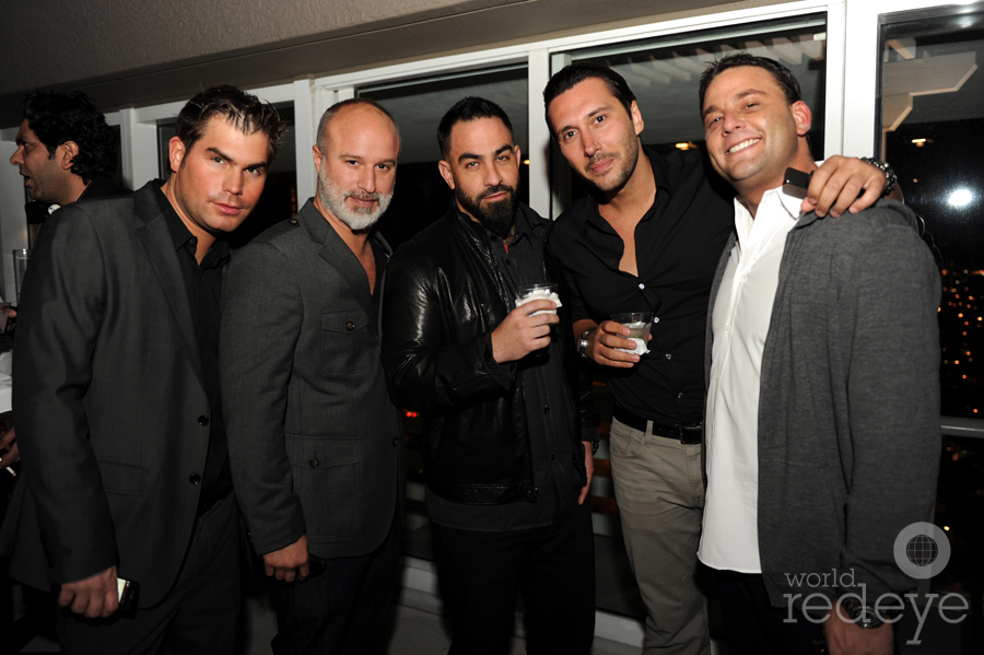 Joe Lahoud, Moe Garcia, Chris Nunez, Cedric Gervais, & David Grutman
