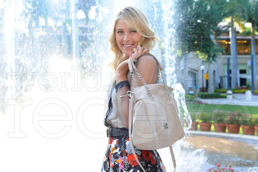 Maria Sharapova at Cole Haan