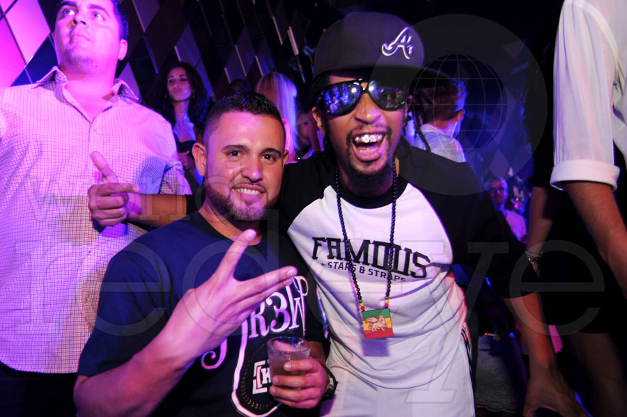 Ricky Nolasco & Lil' Jon at Favela Beach