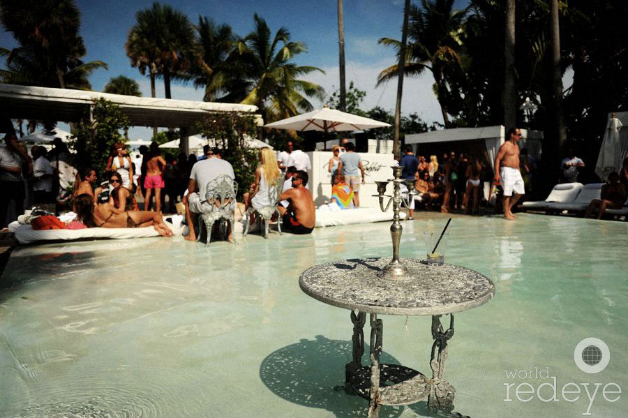 White Rabbit Pool Party at Delano