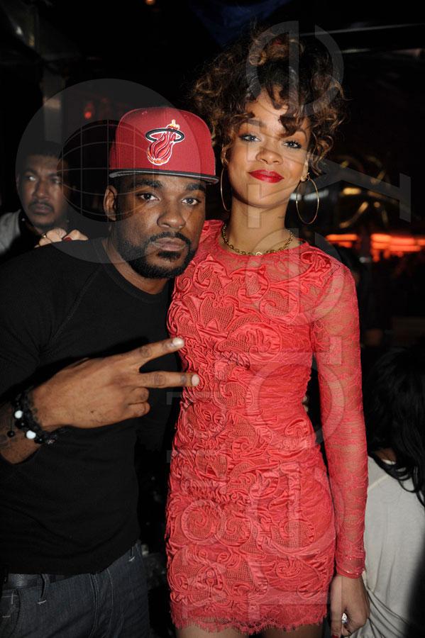 Rihanna, Nas, & Cee Lo at LIV