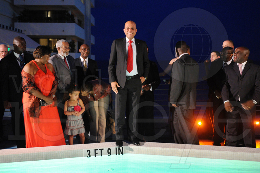 President Martelly 1st Official US Visit