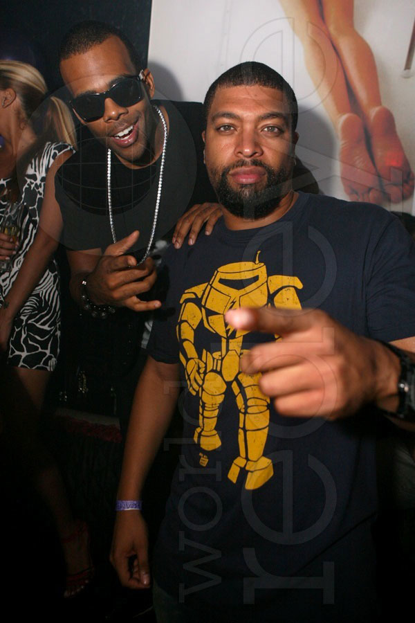 Mario & DeRay Davis at Mokai