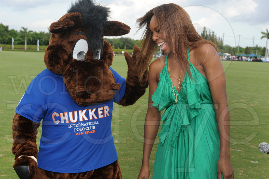 Venus Williams hosts International Polo Club